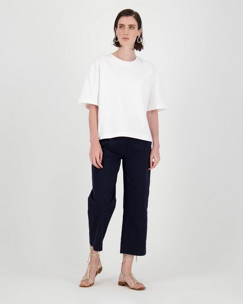 Camari Oversized T-Shirt -  white