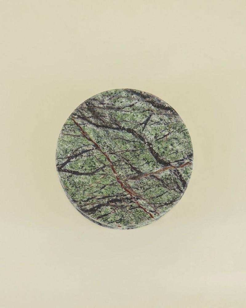 Rain Forest Coaster Set -  green-brown