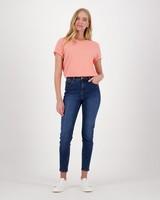 Michaela Plain T-Shirt -  orange