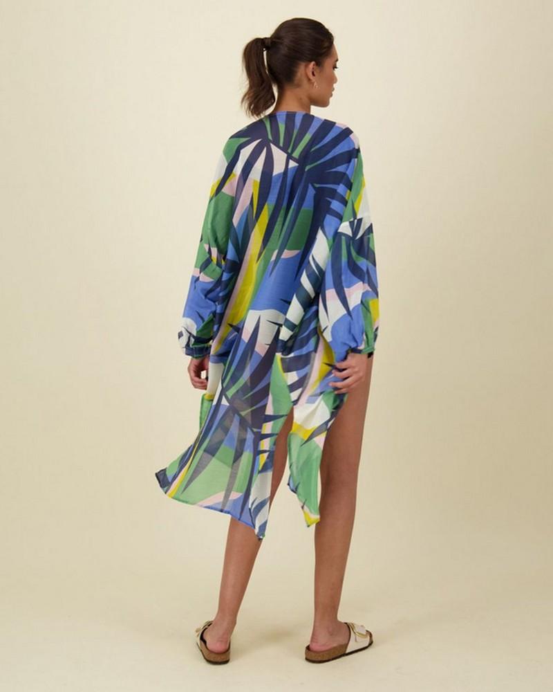 Haley Abstract Kimono -  assorted