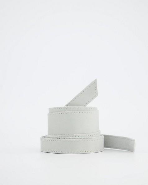 Tammy Waist Tie Belt -  grey