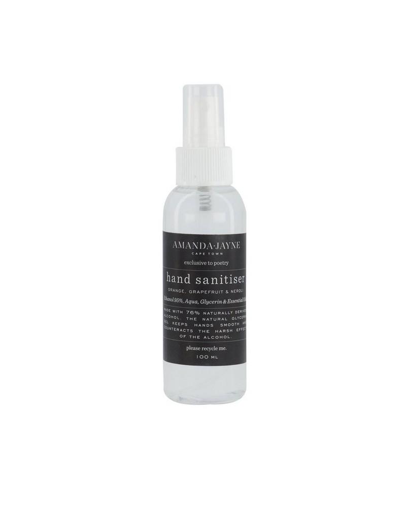 Amanda-Jayne Small Liquid Hand Sanitizer  -  charcoal