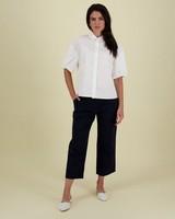 Kinsley Poplin Shirt -  white