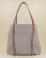 Alva Shopper Bag -  grey-tan