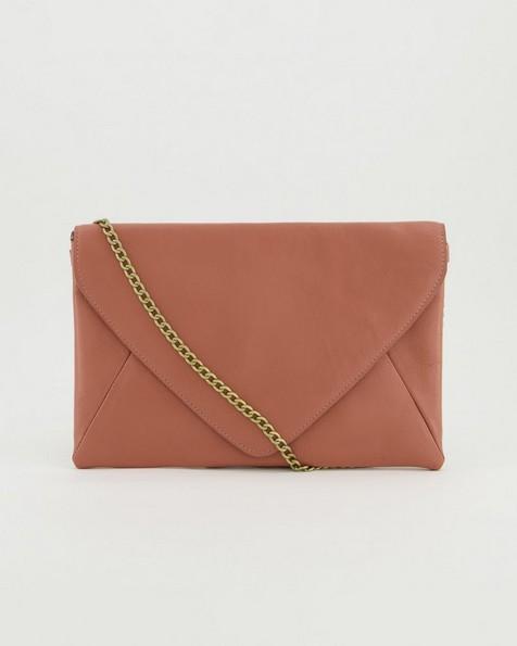 Fawn Envelope Bag -  coral