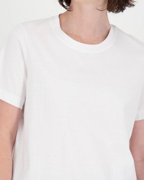 Michaela Plain T-Shirt -  white