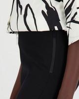 Ruby Marled Ponte -  black