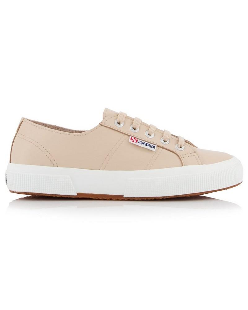 Superga Ladies Leather Sneaker  -  dusty-pink