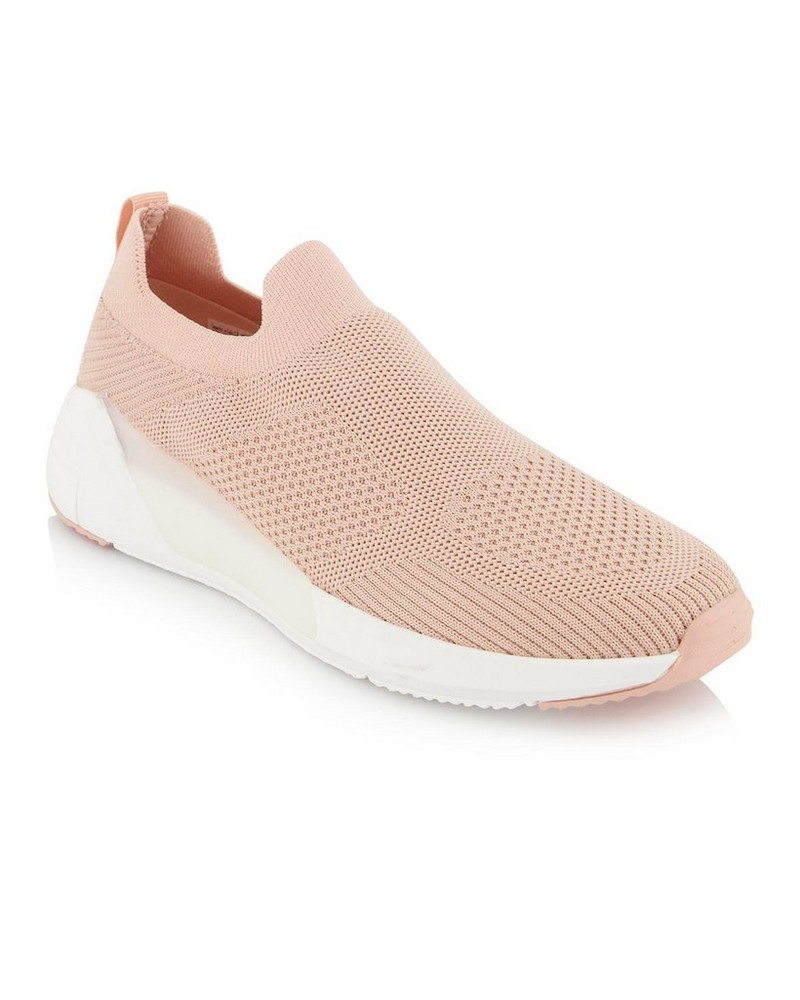 Ella Sneaker  -  peach