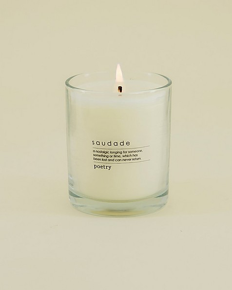 Saudade Candle -  white