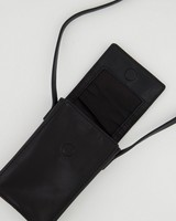Gene Phone & Card Pouch -  black
