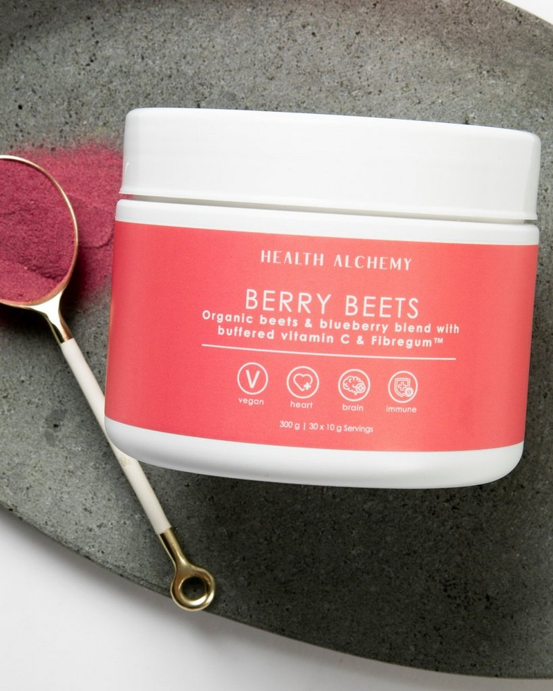 Health Alchemy Super Beets & Berry Blend -  assorted