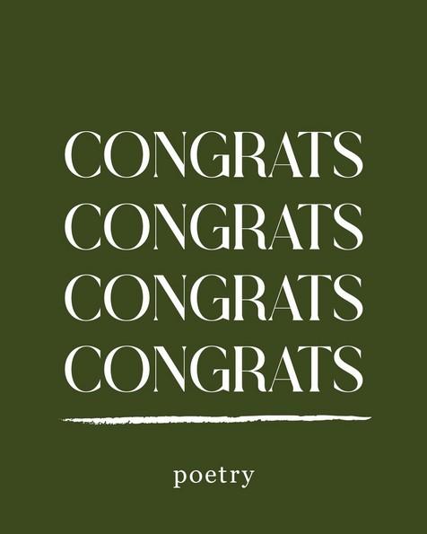 Gift Card - Congratulations -