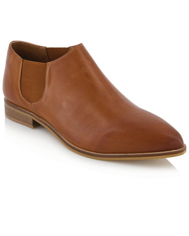 Tread + Miller Sage Shoe Ladies -  tan