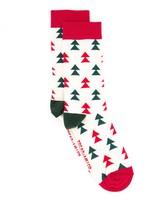 Tread + Miller Tree Top Sock -  green