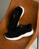 Tread & Miller Jorge Sneaker -  black