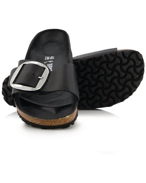 Birkenstock Madrid Big Buckle Sandal -  black