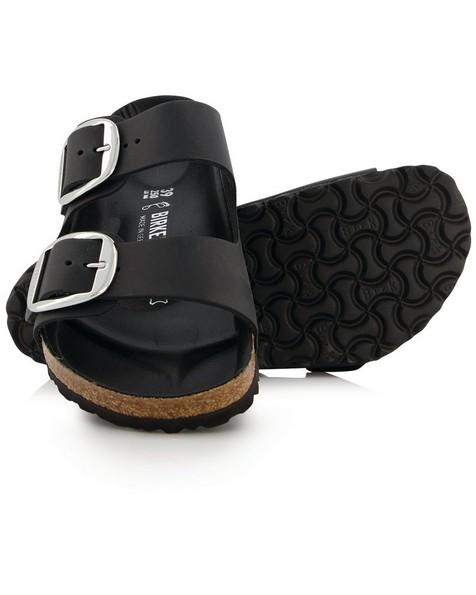 Birkenstock Arizona Big Buckle Sandal  -  black