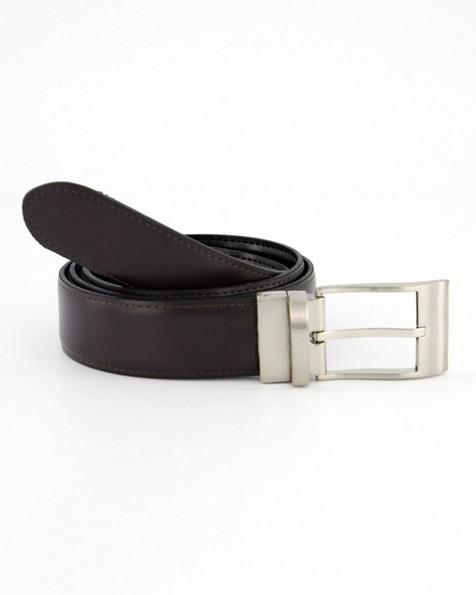 Tread + Miller Nate Reversible Belt -  black