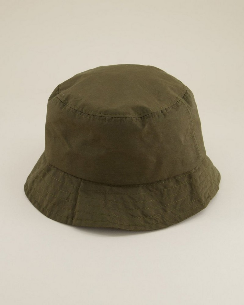Kevin Clean Tech Bucket Hat -  olive