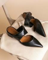 GIANNA Padded Heel -  black