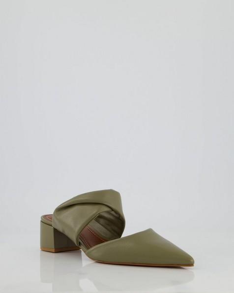 GIANNA Padded Heel -  olive