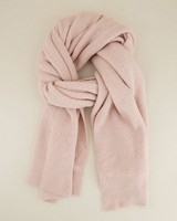 Sonia Ribbed Scarf -  lightpink