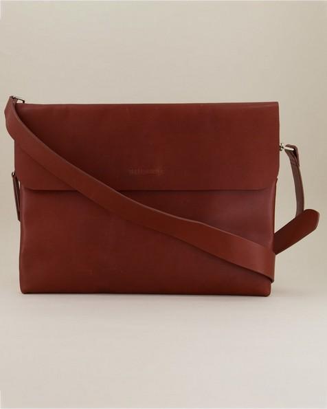 Malik Envelope Laptop Bag -  tan