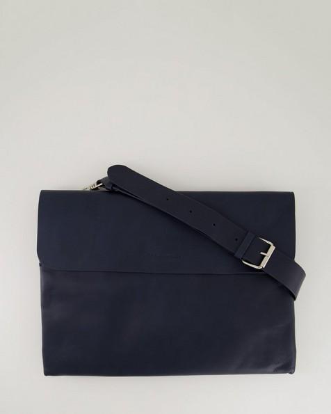 Malik Envelope Laptop Bag -  navy