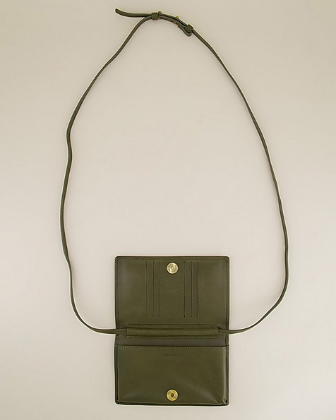Nadja Phone & Card Pouch -  olive