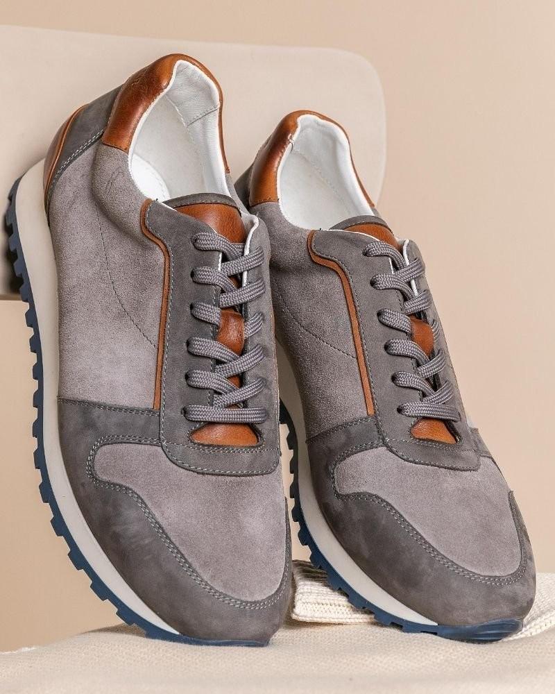 Tread+Miller Ronnie Sneaker -  grey