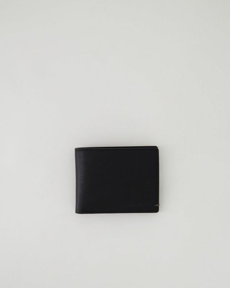 Men's Mateo Leather Wallet -  black