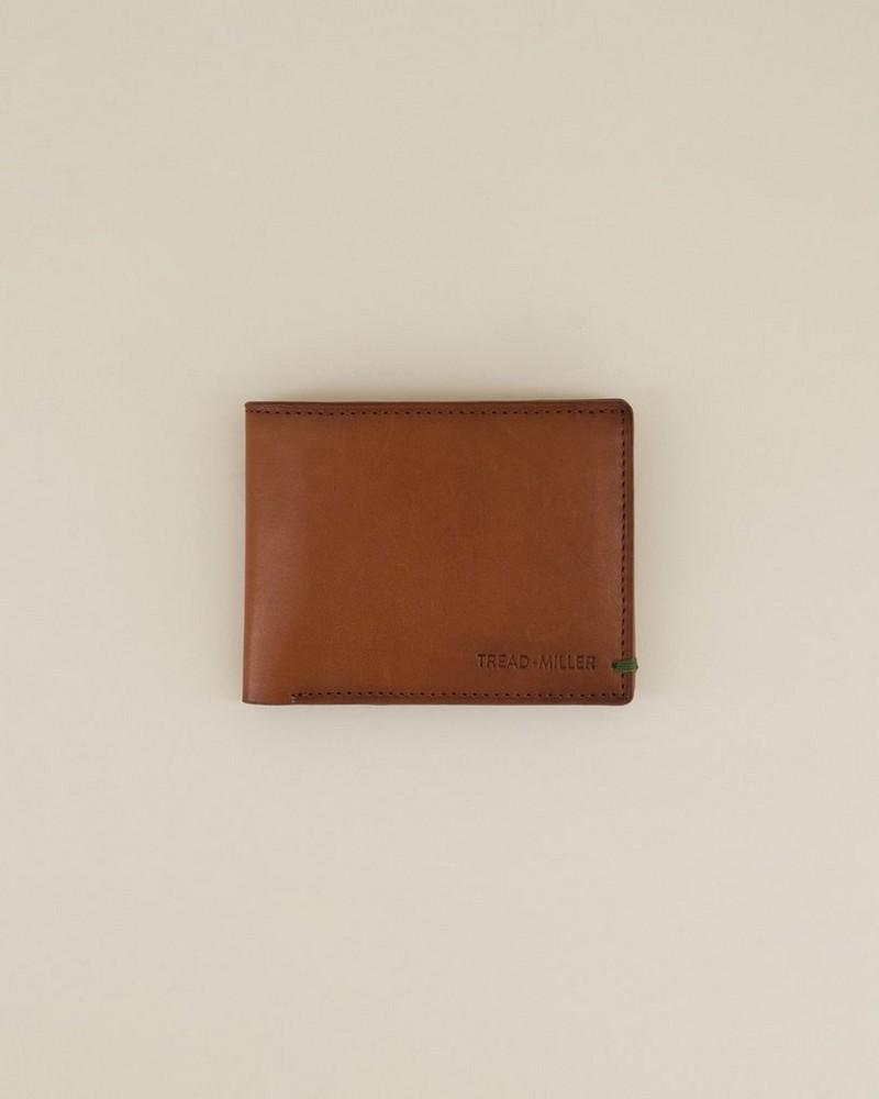 Men's Mateo Leather Wallet -  tan
