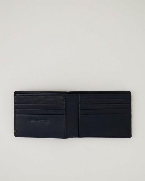 Men's Mateo Leather Wallet -  navy
