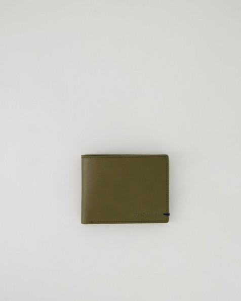 Men's Mateo Leather Wallet -  olive