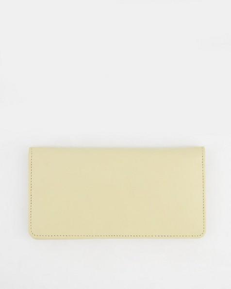Aya Clean Clip Purse -  yellow
