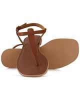 Sadie Ladies Sandal  -  tan
