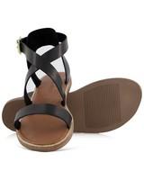 Gwen Ladies Sandal  -  black