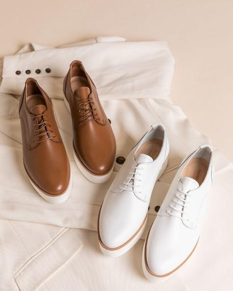 Ladies Ava Shoe -  white
