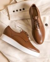 Ladies Ava Shoe -  tan