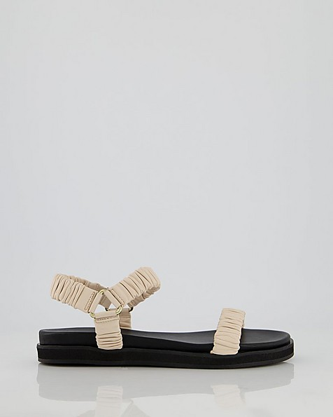 Ladies Kelby Sandal  -  bone
