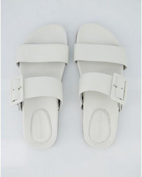 Ladies Izzy Sandal -  white