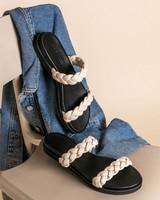 Tread + Miller Paula Sandal (Ladies) -  bone