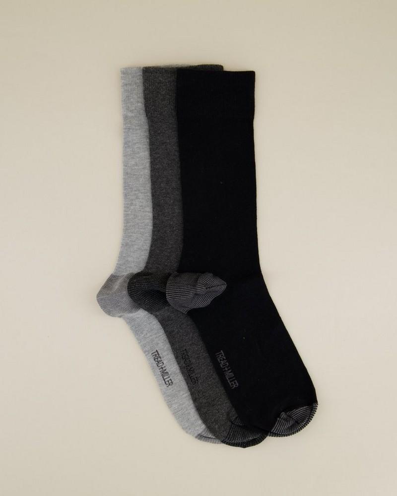 3-Pack Men's Sock Pack -  grey