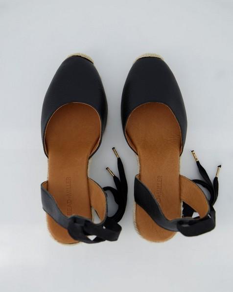 Ladies Verah Wedge  -  black