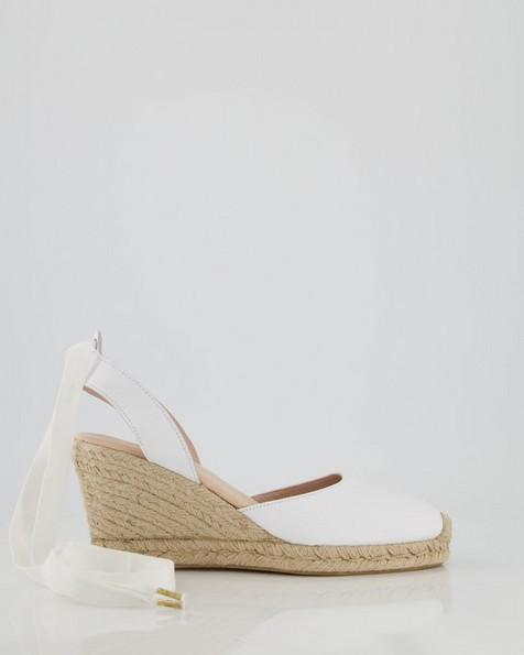 Ladies Verah Wedge  -  white