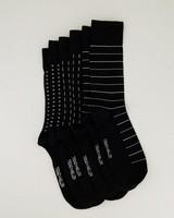 3-Pack Men's Black Sock Pack -  black