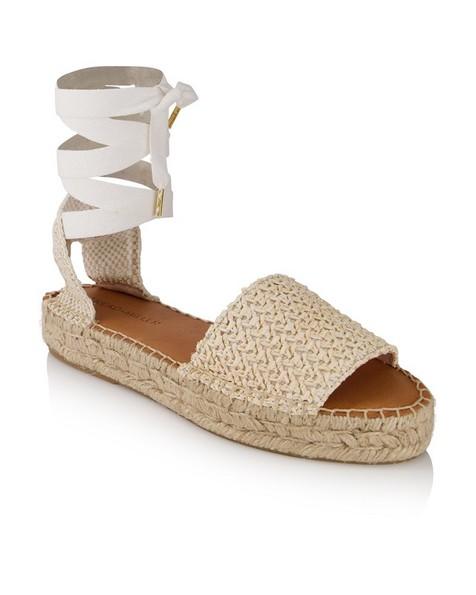 Ladies Shelby Sandal  -  white
