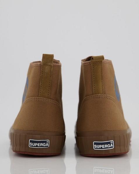 Superga Men's Canvas Boot Sneaker -  olive