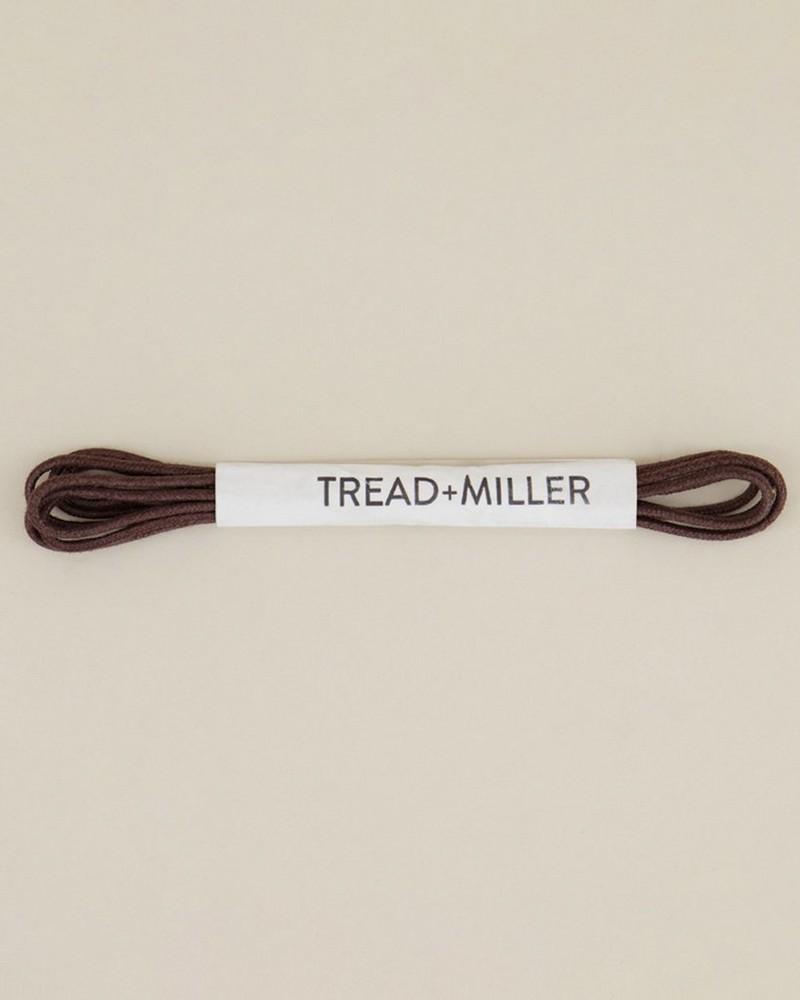 Wax Cotton Shoelaces  -  brown